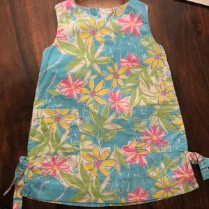 Lilly Pulitzer white label shift dress